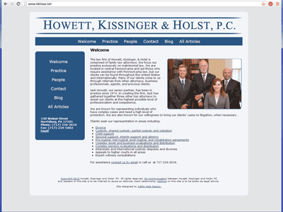 Howett, Kissinger, & Holst